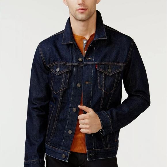 LEVI'S Mens Jean Jacket Men's as XL